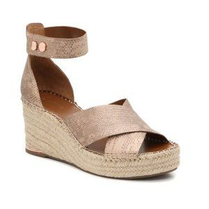 NIB Franco Sarto Carma Copper Sandals Size 10